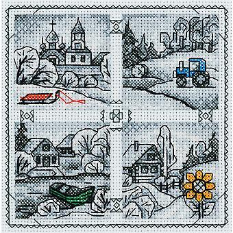 Panna Cross Stitch Kit : Countryside Minatures