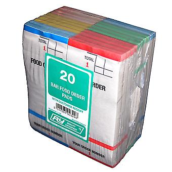 Robinson Young Bar Food Order Pads/Number Slip