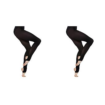 Silky Girls Dance Stirrup Tights (1 Pair)