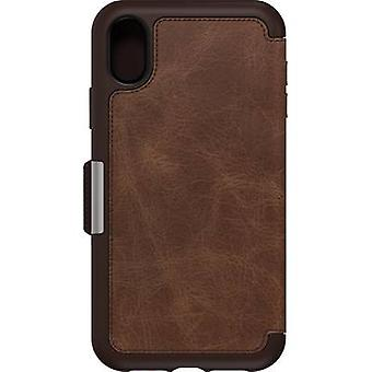 Otterbox Strada Flip Case Apple iPhone XR Espresso