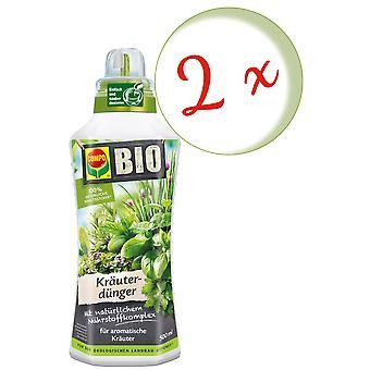 Sparset: 2 x COMPO BIO herbal fertilizer, 500 ml