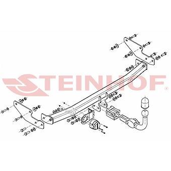 Barre de remorquage automatique Steinhof (horizontal) pour Renault TWINGO 2007-2013