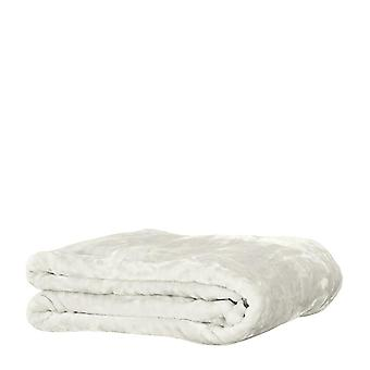 Mink Blanket 220x240cm Ivory