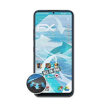 atFoliX 3x Écran protecteur compatible avec LG K41S Protecteur d'écran clair&flexible