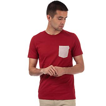 Men-apos;s Jack Jones Boston T-Shirt en rouge