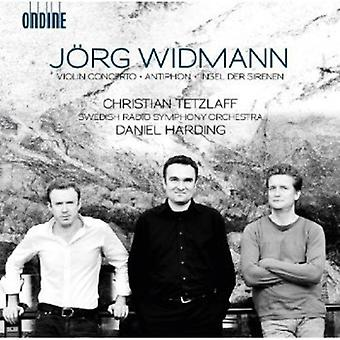 Jorg Widmann - J Rg Widmann: Violin Concerto; Insel Der Sirenen; Antiphon [CD] USA import