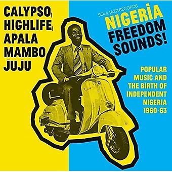 Soul Jazz Records Presents - Nigeria Freedom Sounds [CD] USA import