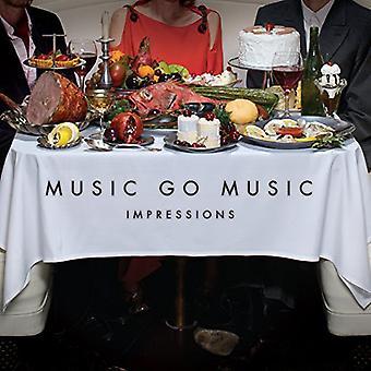 Music Go Music - Impressions [Vinyl] USA import