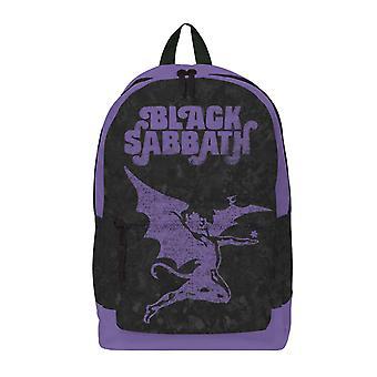Black Sabbath Ryggsäck Väska Lila Demon Band Logo nya officiella Rocksax Black