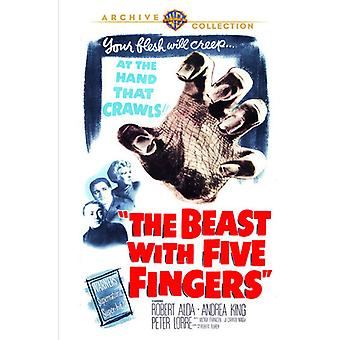 Beast with Five Fingers [DVD] USA import