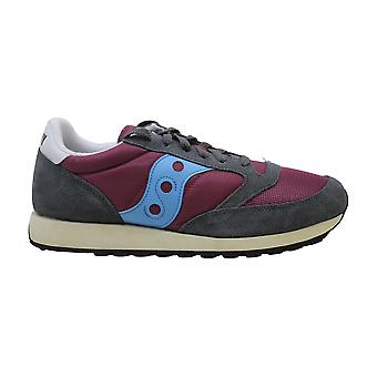 Saucony Femmes's Shoes Jazz Original Leather Low Top Lace Up Fashion Sneakers