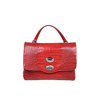 Zanellato 6120cc73 Dames's Red Leather Handtas
