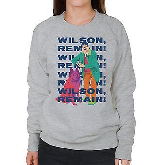 Friday Night Dinner Wilson Remain Women's Sweatshirt