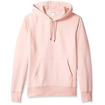 Essentials Men's Hooded Fleece Sweatshirt, Pink, X-Large
