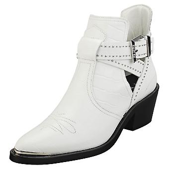 Ted Baker Celania Womens Ankle Boots in White