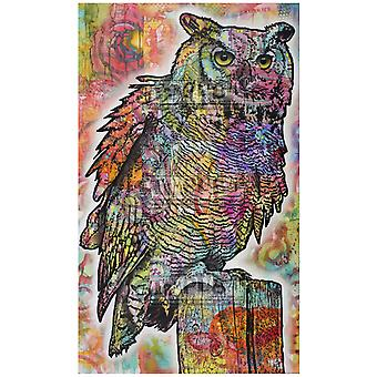 Stamplistic Owl Perch Cling Stamp