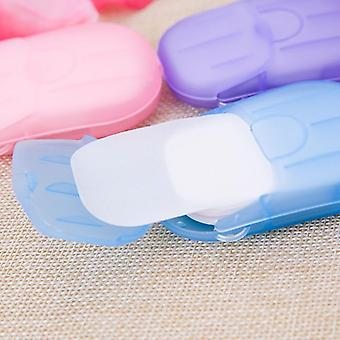 Portable And Disposable, Scented Paper Soap And Storage Box
