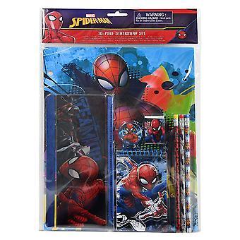 Stationery Set - Marvel - Spiderman 10Pcs Value Pack 344029