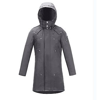 Women's Soft Shell Trench Coat Water Resistant