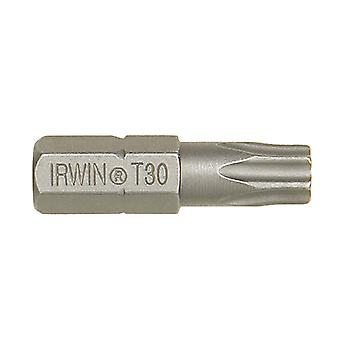 IRWIN Screwdriver Bits Torx T25 x 25mm Pack of 10 IRW10504354