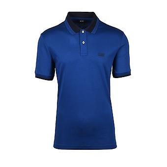 BOSS Casualwear Boss Parley 88 Polo Shirt Navy