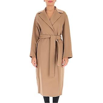 'S Max Mara 90160909600700007 Femmes-apos;s Beige Wool Coat