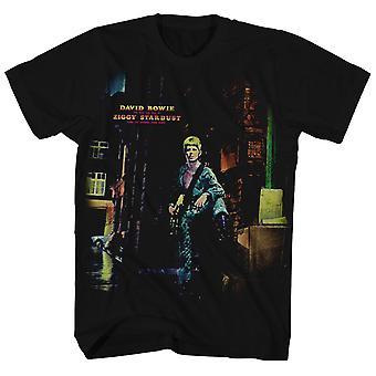 David Bowie T Shirt Ziggy Stardust Album Art David Bowie Shirt