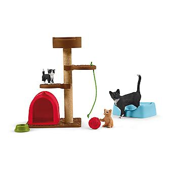Schleich Farm World Playtime for Cute Cats (42501)