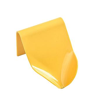 Soap Holder Wall Mounted Soap Dish with Suction Cup Yellow