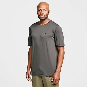 Nieuwe Brasher Men's Wicking Short Sleeve T-shirt Grijs