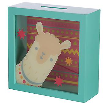 See Your Savings Money Box - Llama Design X 1 Pack