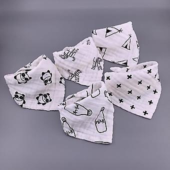 Filles, Boys Bandana, Triangle Feeding Burp Cloth - Foulard collier