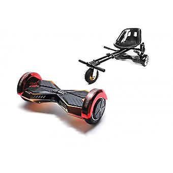 Package Smart Balance™ Hoverboard 8 Inch, Transformers Sunset + Hoverseat With Suspensions, Motor 700 Wat, Bluetooth, Led