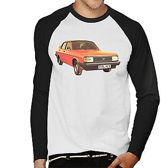 Morris Ital British Motor Heritage Men's Baseball Long Sleeved T-Shirt