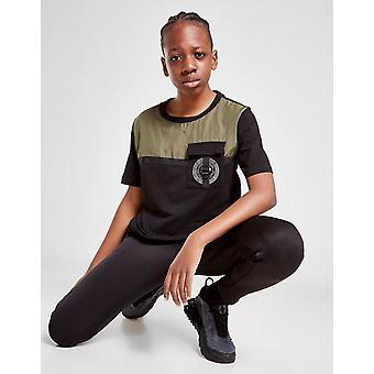 Nieuwe Supply & Demand Girls' Defence T-Shirt Zwart