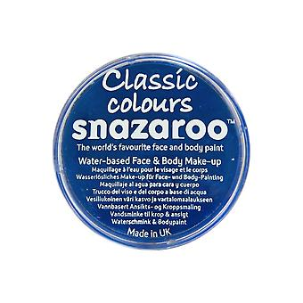 Snazaroo Halloween Fancy Dress Accessories - Classic Colours Water Based Face & Body Paint - Royal Blue 18ml