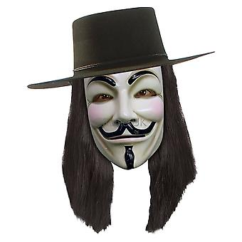 Rubies Halloween Fancy Dress Costume Adult Unisex - V For Vendetta Wig