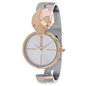 Just Cavalli Women's Glam Chic Snake Silver Dial Watch - JC1L058M0075