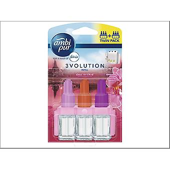 Ambi Pur 3Volution Refill Thai Orchidee x 2 76743