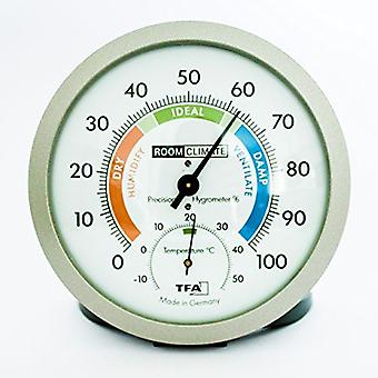 Blooming Weather Analogue Thermo-Hygrometer with Comfort Zones 45.2042.50.GB