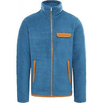 North Face Cragmount Fleece Full Zip Jacket - TNF Black/Vanadis Grey