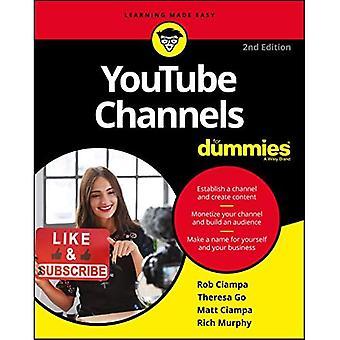 YouTube-kanalen voor Dummies
