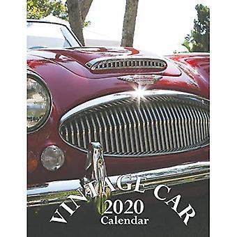 Vintage Car 2020 Calendar