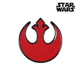 Pin Rebel Star Wars Metall Rød