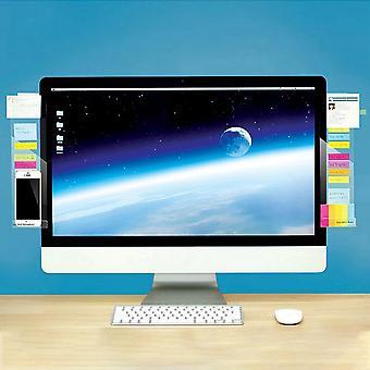 Zelfklevende acryl computer monitor bericht Memo Notities, tabbladen bord met