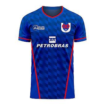 Universidad de Chile 2020-2021 Home Concept Football Kit (Libero) - Kids