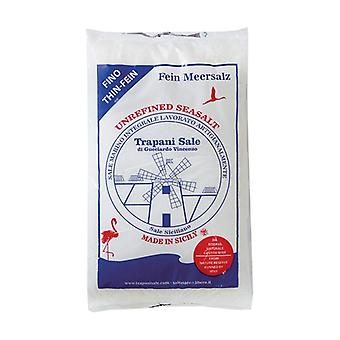 Fine integral Sicilian sea salt - from the wwf natural park 1 kg