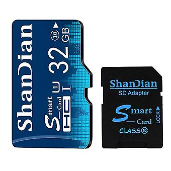 Carte Mémoire 4 Go 8 Go Classe 6 Smart Sd Card Tf Card Real Capacity