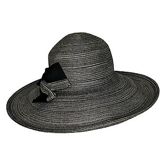 Physician Endorsed Savannah Bow Sunhat Polyester Black A289214