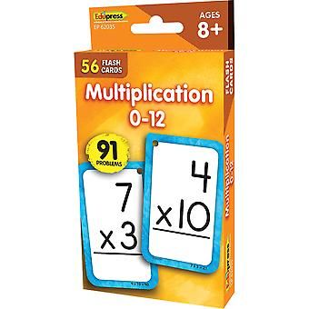 Multiplicaion 0-12 Flash-Karten